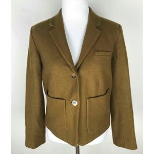 Anthropologie Cartonnier Brown Jacket